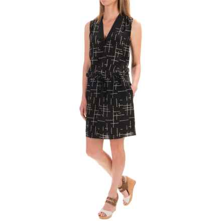 Pendleton Day and Night Silk Dress - Sleeveless (For Women) in Black - Closeouts