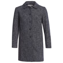 Pendleton Departures Jacket - Crosshatch Tweed (For Plus Size Women) in Midnight Navy - Closeouts