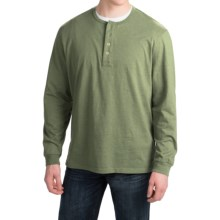 Pendleton Deschutes Henley Shirt - Long Sleeve (For Men) in Pine Heather - Closeouts