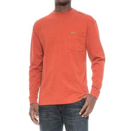 Pendleton Deschutes Shirt - Long Sleeve (For Men) in Vermillion Heather - Closeouts