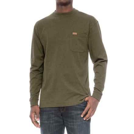 Pendleton Deschutes Shirt - Long Sleeve (For Men) in Yakima Green Heather - Closeouts