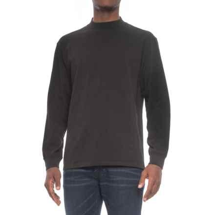 Pendleton Deschutes Shirt - Mock Neck, Long Sleeve (For Men) in Black - Closeouts