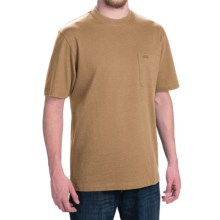 Pendleton Deschutes T-Shirt - Combed Jersey Cotton, Short Sleeve (For Men) in Camel Heather - Closeouts