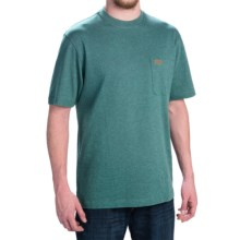 Pendleton Deschutes T-Shirt - Combed Jersey Cotton, Short Sleeve (For Men) in Marine Heather - Closeouts