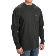 Pendleton Deschutes T-Shirt - Long Sleeve (For Men) in Black - Closeouts