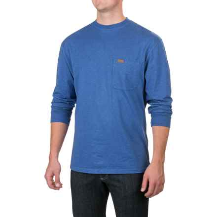 Pendleton Deschutes T-Shirt - Long Sleeve (For Men) in Brilliant Blue Heather - Closeouts