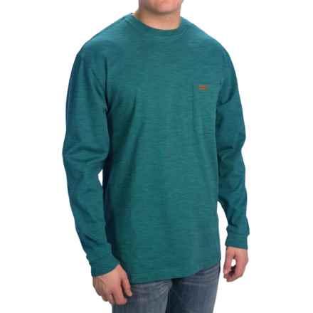 Pendleton Deschutes T-Shirt - Long Sleeve (For Men) in Dark Turqouise Heather - Closeouts