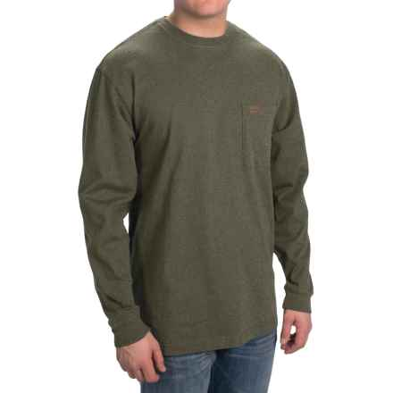 Pendleton Deschutes T-Shirt - Long Sleeve (For Men) in Forest Green Heather - Closeouts