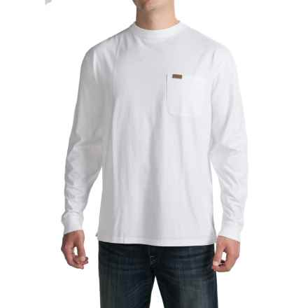 Pendleton Deschutes T-Shirt - Long Sleeve (For Men) in White - Closeouts