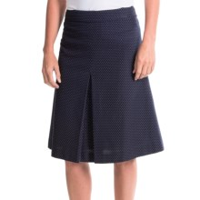 Pendleton Dianne Dot Cotton Skirt (For Women) in Navy/White Dot - Closeouts