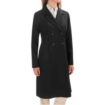 Pendleton Double-Breasted Dress Coat (For Women) in Black - Closeouts
