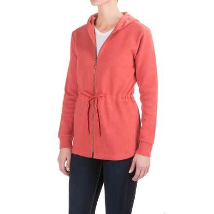 Pendleton Drawstring-Waist Hoodie Shirt - Long Sleeve (For Women) in Rust - Closeouts