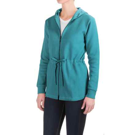 Pendleton Drawstring-Waist Hoodie Shirt - Long Sleeve (For Women) in Sage - Closeouts