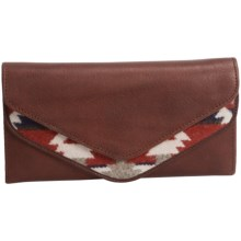 Pendleton Envelope Wallet - Fabric and Leather (For Women) in Mountain Majesty - Closeouts