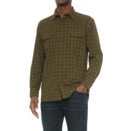 Pendleton Fairbanks Corduroy Shirt - Long Sleeve (For Men) in Sage Plaid - Closeouts