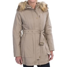 Pendleton Faux-Fur-Trim Parka - Insulated (For Women) in Fawn - Closeouts