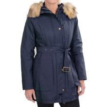 Pendleton Faux-Fur-Trim Parka - Insulated (For Women) in Indigo - Closeouts