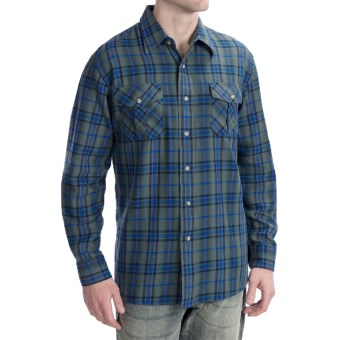 Pendleton Fitted Kingston Shirt - Long Sleeve (For Men) in Green