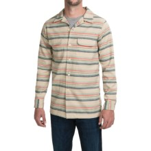 Pendleton Fitted Surf Board Shirt - Virgin Wool, Long Sleeve (For Men) in Surf Stripe - Closeouts