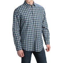 Pendleton Fitted Tennyson Plaid Shirt - Long Sleeve (For Men) in Indigo Blue Plaid - Closeouts