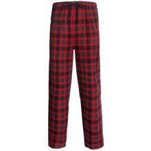 Pendleton Flannel Sleep Pants (For Men) in Red Check - Closeouts