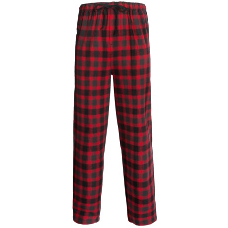 Pendleton Flannel Sleep Pants (For Men) in Red Check