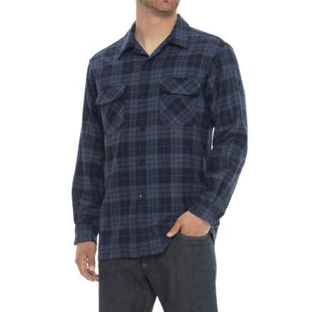 Pendleton Free Nature Classic Board Shirt - Wool, Long Sleeve (For Men) in Blue Plaid - Overstock