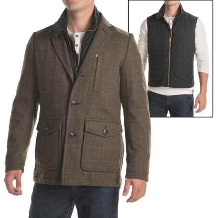 Pendleton Fremont 3-in-1 Blazer - Wool Blend (For Men) in Brown Herringbone - Closeouts