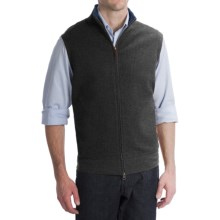 Pendleton French Rib Vest - Zip Front (For Men) in Charcoal - Closeouts