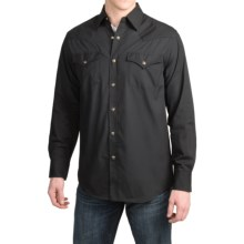 Pendleton Frontier Western Shirt - Snap Front, Long Sleeve (For Men) in Black - Closeouts