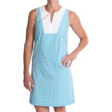 Pendleton Geo Print Vista Dress - Sleeveless (For Women) in Carolina Blue - Closeouts
