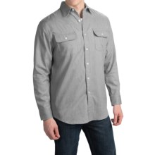 Pendleton Hamilton Fitted Shirt - Long Sleeve (For Men) in Grey - Closeouts