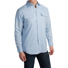 Pendleton Hamilton Fitted Shirt - Long Sleeve (For Men) in Light Blue - Closeouts