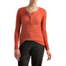 Pendleton Hannah Thermal Henley Shirt - Long Sleeve (For Women) in Autumn Glaze - Closeouts