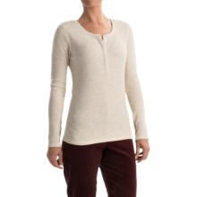 Pendleton Hannah Thermal Henley Shirt - Long Sleeve (For Women) in Natural Heather - Closeouts