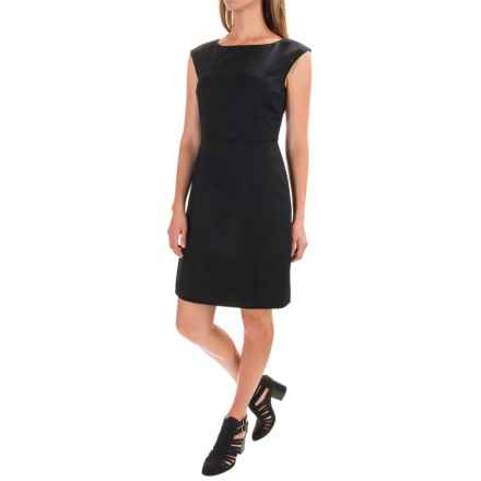 Pendleton Harrow Stretch Wool Dress - Sleeveless (For Women) in Black Ultra - Closeouts