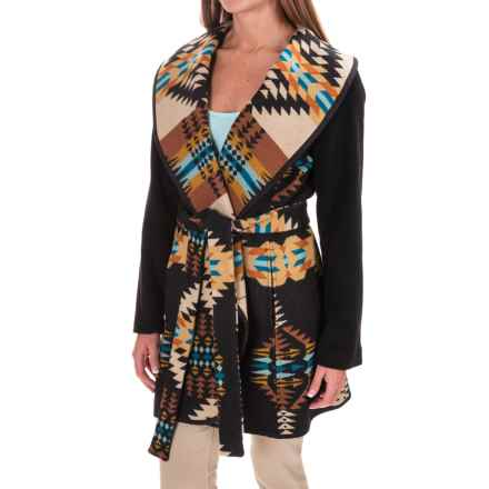 Pendleton Heritage Nez Aztec Blanket Coat - Wool (For Women) in Rancho Arr - Overstock