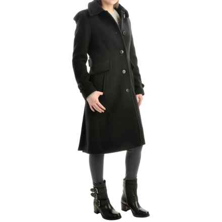 Pendleton Heritage Pacific Long Coat - Wool (For Women) in Black - Overstock