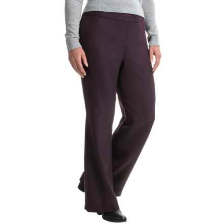 Pendleton Herringbone Pants - Virgin Wool (For Women) in Burgundy/Black - Closeouts