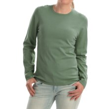 Pendleton Jewel Crew Neck Sweater - Silk Blend (For Women) in Wintergreen - Closeouts