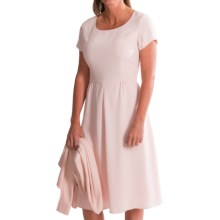 Pendleton Kristen Travel Tricotine Dress - Short Sleeve (For Women) in Pearl Blush - Closeouts