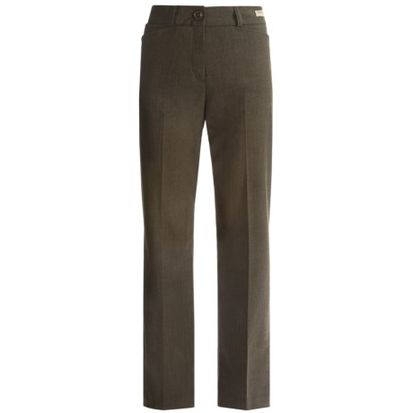 Pendleton Lady Rider Stretch Wool Pants - Bootcut (For Women) in Olive Mx