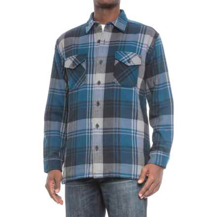 Pendleton Lakeside Shirt Jacket (For Men) in Colbalt Blue Plaid - Closeouts