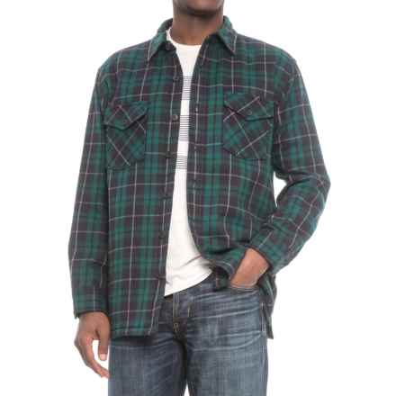 Pendleton Lakeside Shirt Jacket (For Men) in Dark Forest Plaid - Closeouts