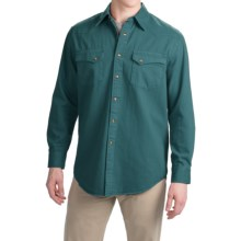 Pendleton Laramie Twill Shirt - Snap Front, Long Sleeve (For Men) in Balsam - Closeouts