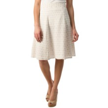 Pendleton Lila Crepe Skirt (For Women) in White/Oxford Tan - Closeouts