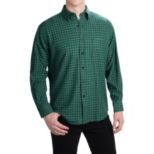 Pendleton Lodge Shirt - Merino Wool, Long Sleeve (For Men) in Dark Green/Green Ombre - Closeouts