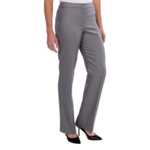 Pendleton Madison Worsted Wool Pants - Classic Fit (For Women) in Multi Check - Closeouts