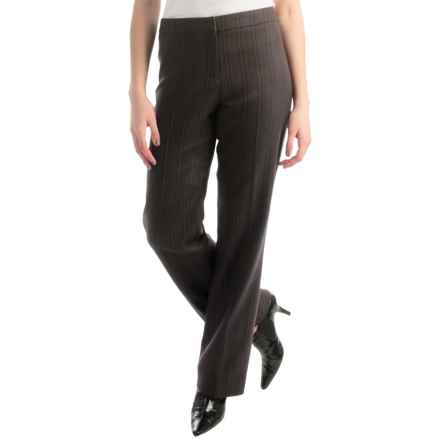 Pendleton Madison Worsted Wool Pants - Classic Fit (For Women) in Multi  Pinstripe - Closeouts