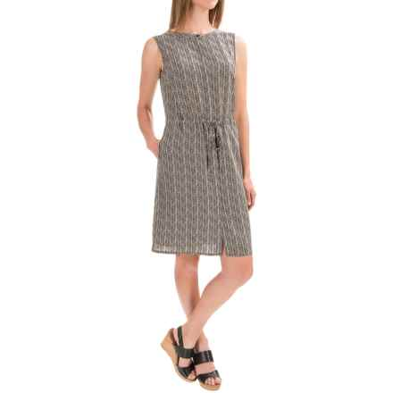 Pendleton Madrona Herringbone Dress - Silk, Sleeveless (For Women) in Herringbone Print - Closeouts